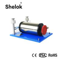China Micro differential -50 ~ 0 ~ 50kPa pressure gauge calibration machine equipments pneumatic bench on sale