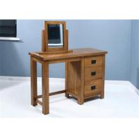 China Small Mirrored Solid Wood Dressing Table Modern Style Color Optional For Fanily on sale
