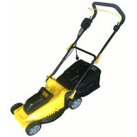 China Electric Lawn mower with certificates  -  efficient  /  Brush motor  1400W on sale