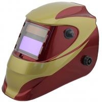 Quality Safety Solar Powered Auto Darkening Welding Helmet Large View For Metal Man / for sale