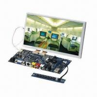 8-inch 800 x 480P TFT LCD Module for Industrial Applications, Widescreen/AV/VGA Input, DC 12V Input Manufactures