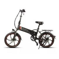 WWW.YOLCART.COM Samebike XW-20ZC 350W Smart Folding Electric Bike 35km / h Maks. Hastighet 48V 10AH E-Bike - Black Manufactures