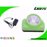 Magnetic USB Charger LED Miners Helmet Light  Cordless For Underground Safety Manufactures
