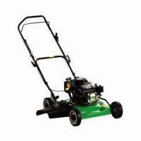 China 460mm Walk Petrol Lawn Mower with Side-discharge Function and Compact Structure  on sale