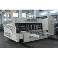 China Die Cutting Cardboard Boxes Making Machine , Automatic Slotting Equipment on sale
