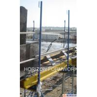 Q235 Steel Slab Shuttering System Guarding Railing Post For Steel Work Safety Manufactures