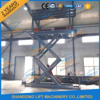 5T 5.36M Double Platform Scissor Car Lift for Villa In-ground Car Lift for House Manufactures
