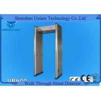 China 12/18 Zone Walk Through Full Body Metal Detector Door Security Devices With 4.3 Inch LCD on sale