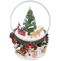 christmas  snow globe home decoration souvenir snow globe gift polyresin resin paris souvenir Manufactures