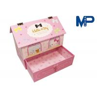 Customizable Printing pink Recycled Paper Gift Boxes for wedding Manufactures