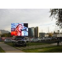 P10 vehicle onboard outdoor advertising led display / Lightweight vehicle mobile led screen / IP65 Manufactures