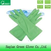China Poly Force Single Leather Laundry Washing Necessities Cleaning Gloves on sale