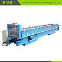 Joint Hidden Roof Wall Panel Cold Roll Forming Machine 0.4-0.8m Thickness Manufactures