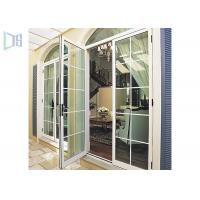 Quality Economic Arched Aluminium Casement Door Powder Coating Australian Standard As2047 for sale