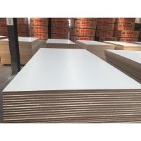 Buy cheap Factory of MDF BOARD.Furniture grade melamine faced mdf manufacturer,WARM WHITE MDF,SNOW WHITE MDF BOARD from wholesalers