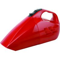 Red Handheld Car Vacuum Cleaner for House 12V DC cigarette lighter Manufactures