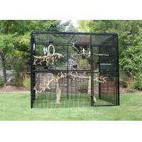 Customized Large Outdoor Bird Aviary 8' Hexagon Cheek'S 3.2mm Wire Dia Manufactures