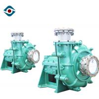 Long Life Horizontal Slurry Pump Heavy Duty Mud Pump for Mining Industry Manufactures
