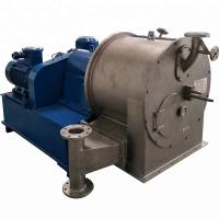 Two Stage Pusher Salt Centrifuge Machine Auto Continuous HR400 1600 Speed r/min Manufactures