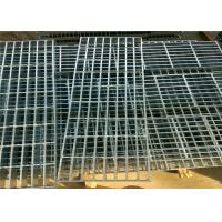 Twisted Galvanized Steel Bar Grating Smooth Flat Surface For Platform / Airport Manufactures