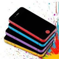 Color side protector for iphone4/iphone4s 10 colors available Manufactures