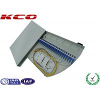 Rotate FTTH FTTB Fiber Optic Terminal Box / Rotating FC LC 24 Cores 48 Cores ODF Patch Panel Manufactures