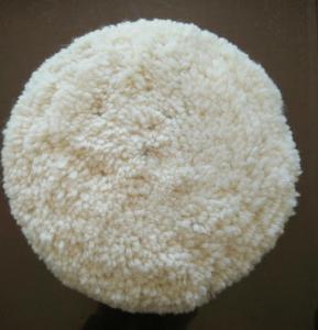 Australian lambskin wool bonnet/car wool polishing pad/wool buffing pad Manufactures