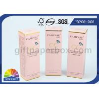 Pantone Color Printing Gold Foil Stamping Paper Packaging Box for Cosmetics Products Manufactures