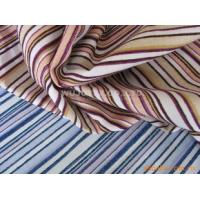 100% Cotton Yarn Dyed Fabric , Stable Quality Plain Weave Chenille Fabric for Apparel Manufactures