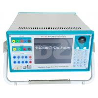 High Accuracy Protection Test Machine Three Phase Relay Tester Manufactures