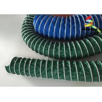 PVC Insulated High Temperature Flexible Duct , 8 Inch HVAC Flex Duct Manufactures