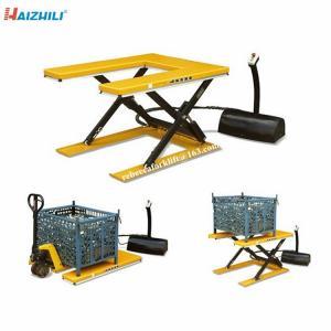 China Stationary Hydraulic Scissor Lift Platform , 1500kg Heavy Duty Scissor Lift Table on sale