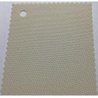 PVC Sunscreen Roller blinds fabrics, solar screen fabric for shade Manufactures