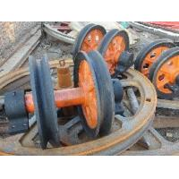 Sand Casting Mini Lifting Hoist Parts Single Flanged Wheels On Sale Manufactures