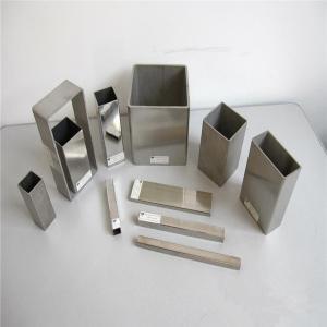 ASTM B338 Grade2 Seamless Titanium Square Tube Pipe Manufactures