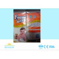 China Soft And Dry Clothlike Printed Newborn Baby Diapers With Non Woven Surface Samples on sale