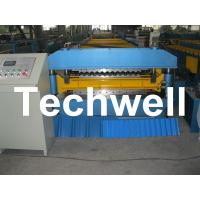 18 Forming Stations Double Layer Roll Forming Machine For IBR, Corrugated Sheets With PLC Manufactures