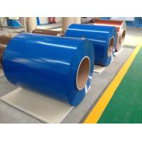 Prepainted Galvanized Steel Coil , Cold Rolled Color Coated Roofing Sheets Manufactures