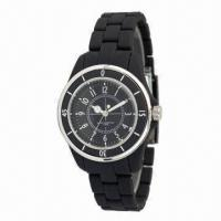 Sports Watch with High-quality Smooth Plastic Case and Strap, Alloy Bezel, Price Discount off 30% Manufactures