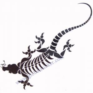 China 2012 tribal tattoo sticker on sale