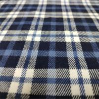 China Casual Shirts Plaid Cotton Fabric Multi Color Optional For School Uniform on sale