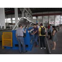 Straight Line Continuous Wire Rod Drawing Machine , Ironed Cast Copper Wire Making Machine Manufactures