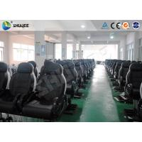 Unforgottable Experience 6D Cinema Equipment With Customized  Decoration Seats Manufactures