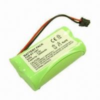 Cordless Phone Battery Pack, BT-1007 UNIDEN/P506, AA 2,000mAh, 2.4V Manufactures