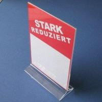 Acrylic Sign Holder, T Display Manufactures
