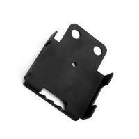China OEM Black Painting Cold Stamped Steel Parts For Bracket on sale