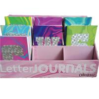 Saddle Binding Colorful Letter Custom Journal Printing For Children And Adult Manufactures