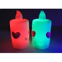 6.5*12cm Large-Sized Flashing LED Candles, Fashion Party Supply, Christmas Gift Red,Orange, Grb Manufactures