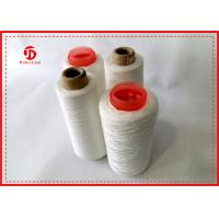 China Multi Colors 100% Polyester Core Ring Spun Yarn Paper Cone With TFO Technics wholesale