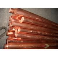 Square / Rectangle Beryllium Alloys Of Copper Rods For Wire Manufactures